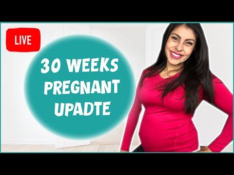 30 Weeks Pregnant Update