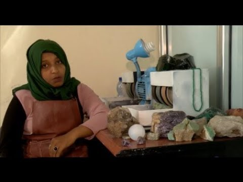 The business of Ethiopian opals and emeralds  - from on Ethiopian business woman's perspective