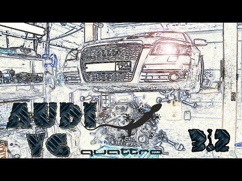 Капитальный ремонт двигателя Audi v6.