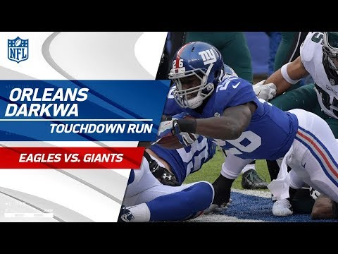 Orleans Darkwa's Strong TD Blast Caps Off NY Opening Drive! | Eagles vs. Giants | NFL Wk 15