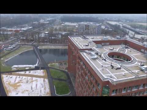 Wageningen UR Campus - Drone