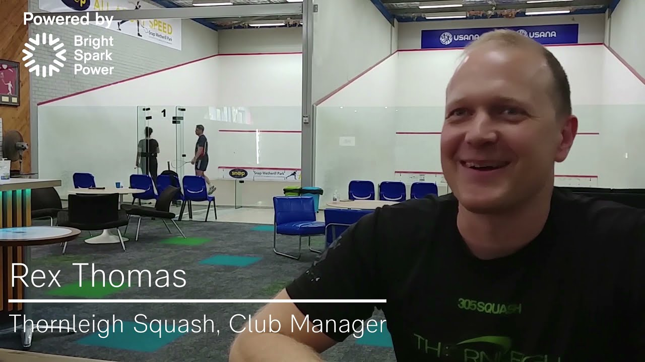 Thornleigh Squash and Fitness| Business Electricity | Powered by Bright Spark Power