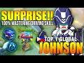 - INSANE DRIVING SKILL TOP 1 JOHNSON COMBO - TOP 1 GLOBAL JOHNSON Bagadim. - MOBILE LEGENDS