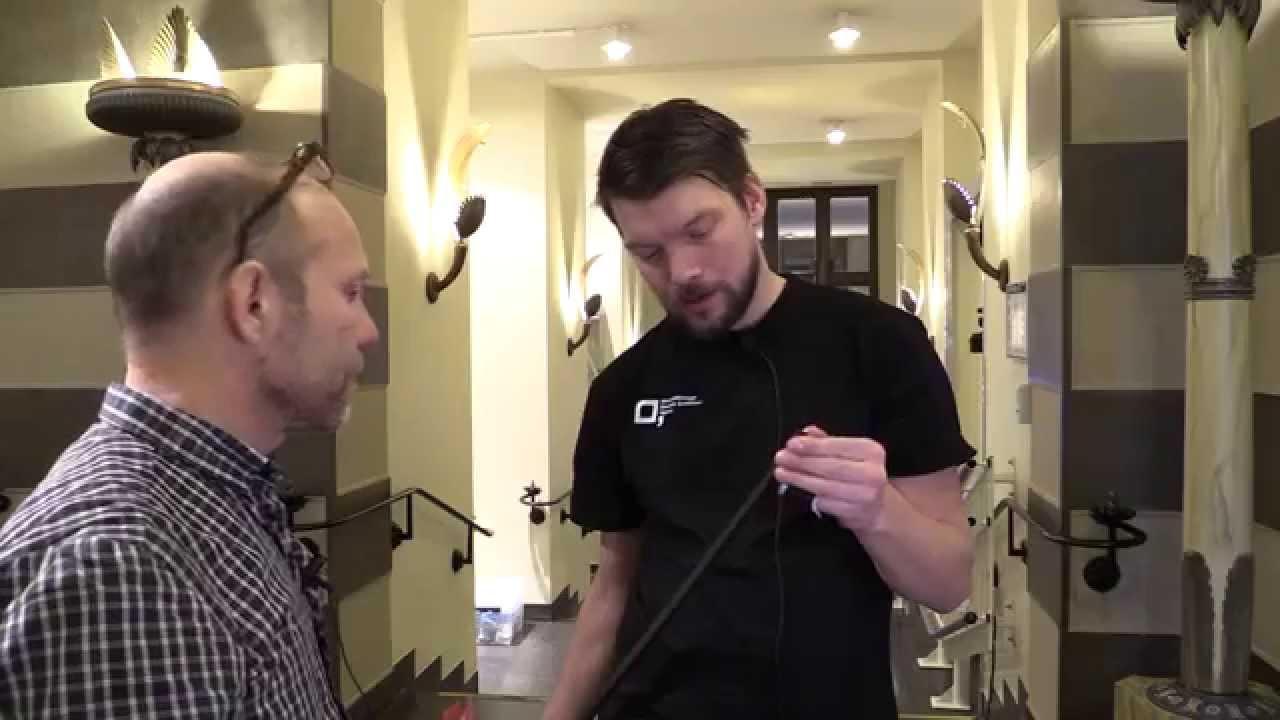 Kabelkanaler i utställning - YouTube