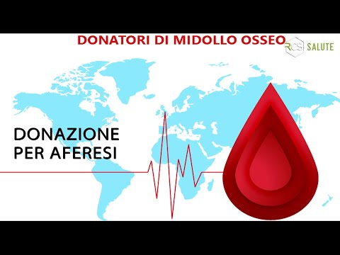 Campagna DONAZIONE MIDOLLO OSSEO - 5° Puntata (donazione per aferesi)
