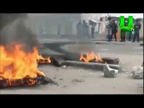 Congo clashes: Anti-Kabila protesters battle Goma police