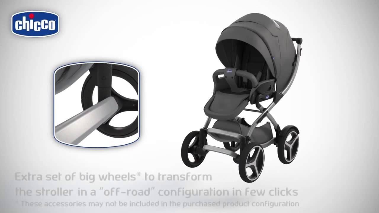 Прогулочная коляска-трость Chicco LiteWay - YouTube