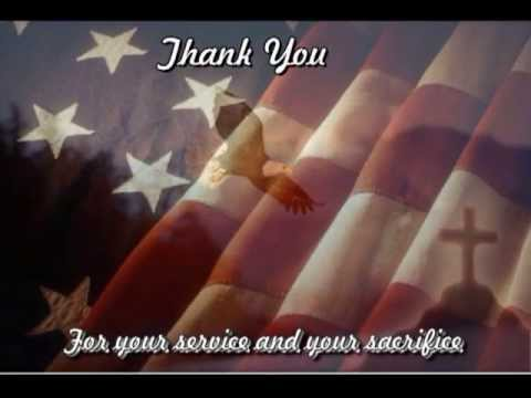 Tribute to our Military men and women- soldiers and Jesus
