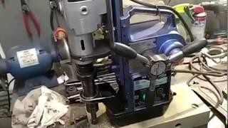 ремонт, заміна двигуна, магнітного свердлильного верстата з авто подачею,