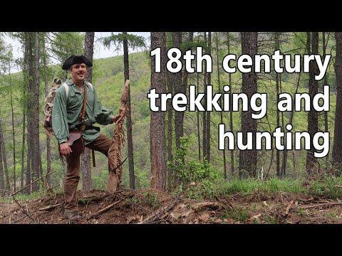 18th Century Trekking And Hunting