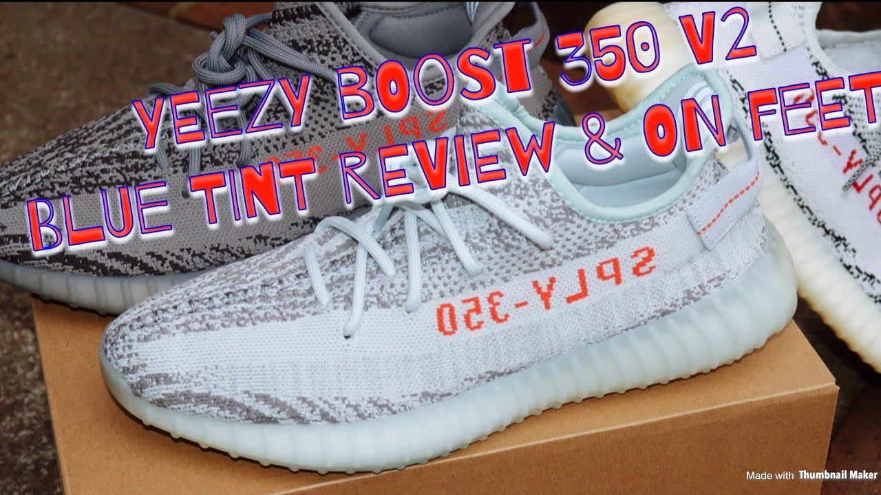 7ca8a000b3767 ADIDAS YEEZY BOOST 350 V2 BLUE TINT UNBOXING