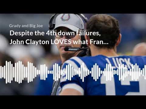 John Clayton LOVES What Frank Reich Has Done So Far