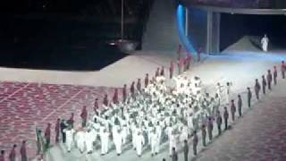 athletes of saudi arabia sudan somalia at 12th arab games in the state of qatar