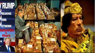 Hillary Emails Reveal NATO Killed Gaddafi to Stop Libyan Creation of Gold Backed Currency
