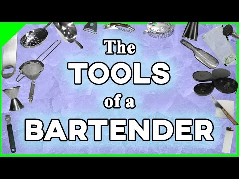 The Tools Of A Bartender | Bartending School At Home