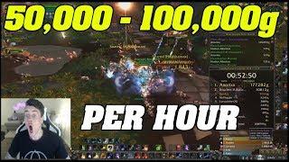 NEW INSANE BFA GOLD FARM! 50,000g - 100,000g PER HOUR!