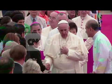 SOUTH KOREA:POPE FRANCIS VISIT  DAY-1 WRAP