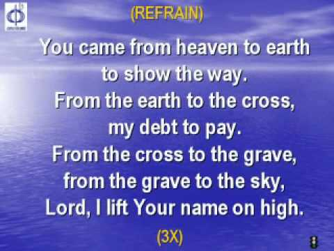 CFC EDMONTON - CLP SONG - LORD I LIFT YOUR NAME ON HIGH with lyrics