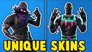 TOP 10 MOST UNIQUE SKINS in Fortnite! (These skins are sooo ORIGINAL)