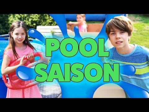 UNSER NEUER POOL IST DA! 🍉🏄🏻Vlog   Lulu und Leon - Family and Fun