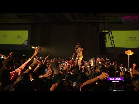 DA LINK Mr Eazi in Liberation Concert Kigali
