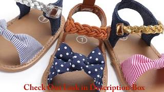 Baby Girl Sandals Summer Baby Girl Shoes | Baby Shoes Play today Beach Sandals