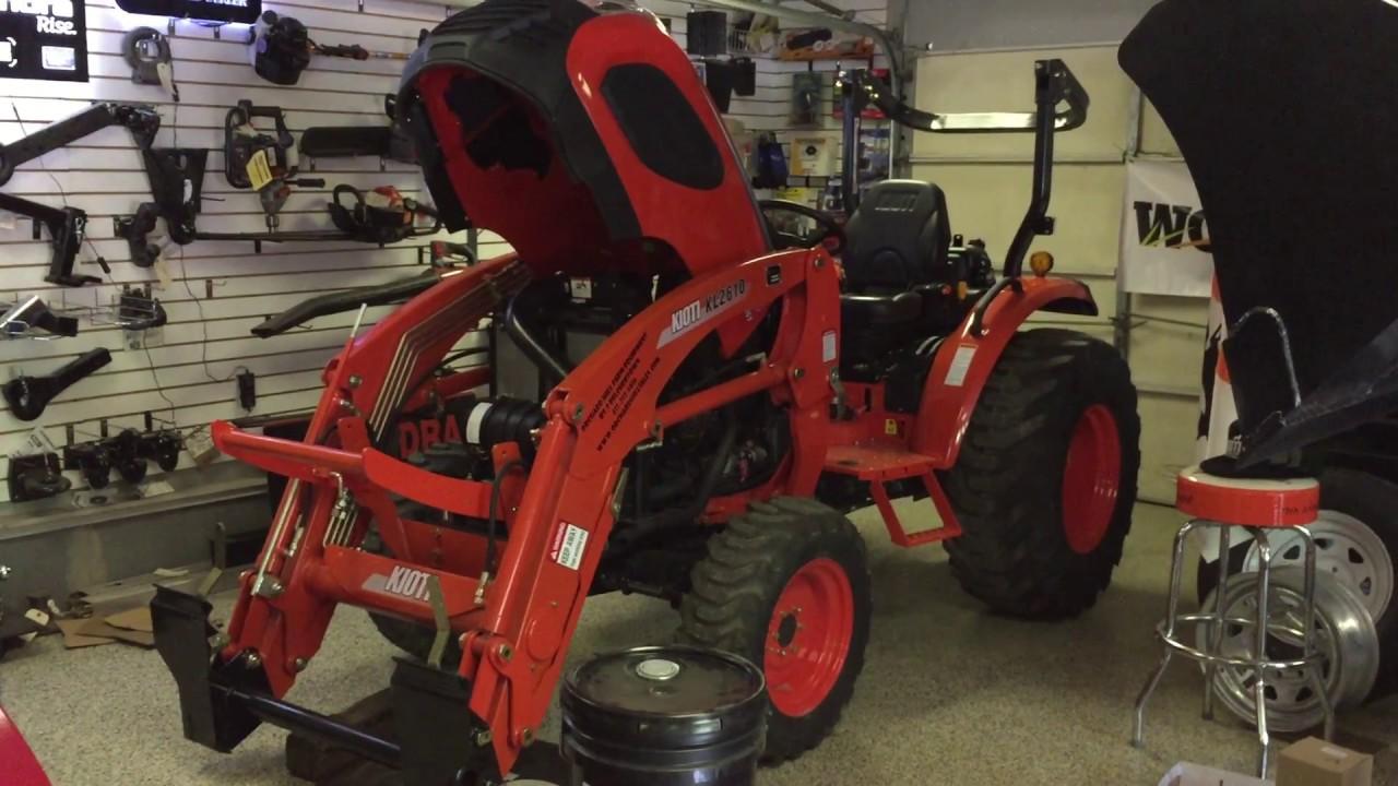 Servicing Your Kioti CK10 Series Tractor - CK2610, CK3510 & CK4010