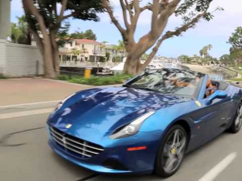 Ferrari California T Drive with Michael Anthony from Van Halen & Chickenfoot