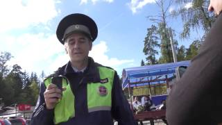Московская обл. Власиха. Беспредельный  лейтенант гибдд