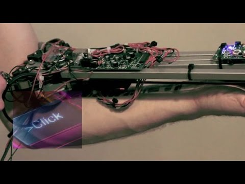 Cyber tattoo that plays music - BBC Click