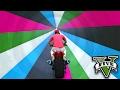 GTA V Online: O TÚNEL do INFINITO no GTA!!