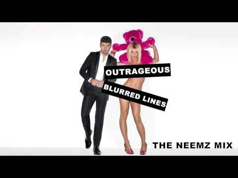 Outrageous Blurred Lines - Britney Spears ft. Robin Thicke (Neemz Mix)