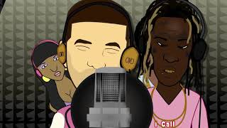 We Are Young Money 7 (RICH HOMIE QUAN, YOUNG THUG & KEVIN GATES CARTOON)