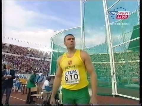Gerd Kanter vs Alekna Helsinki 2005