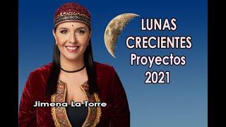 Lunas Crecientes - Proyectos 2021