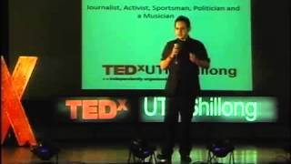 Youth, Clean Governance and Politics in India | Pradyot Bikram Manikya Barma | TEDxUTMShillong