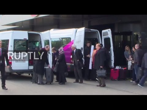 Switzerland: Syrian opposition arrives in Geneva for new round of peace talks