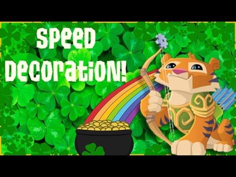 "Animal Jam Speed Decoration: ""Shamrock Season!"""