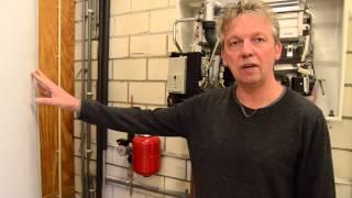Zonneboiler vloerverwarming
