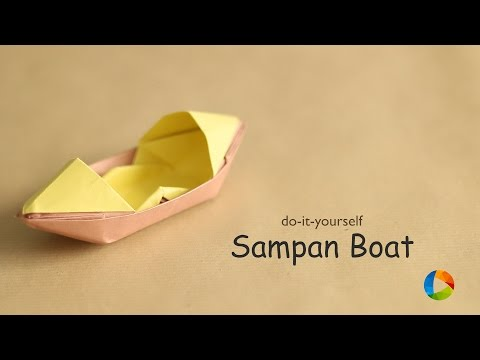 how to make a thermocol boat video