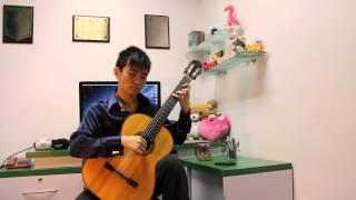 Moonlight, B-minor study Op. 35 No. 22 - Fernando Sor (Steven Law)
