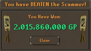 I Anti-Scammed the Scammers of RuneScape