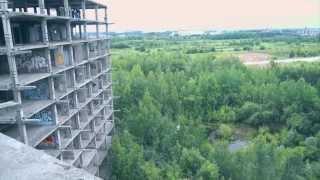 Melancholy #2 - Object#5 (rope jumping)(Красивый ролик о поездке моих друзей на заброшенную больницу для сотрудников КГБ для занятия роупджампинг..., 2013-06-24T20:04:33.000Z)