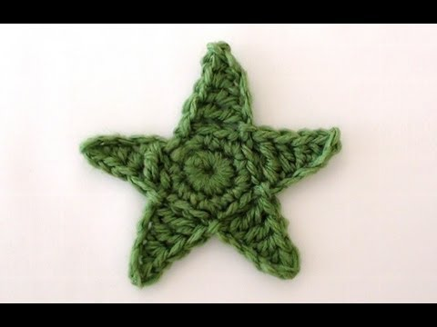 Crochet Star How To Make Crochet Stars Youtube