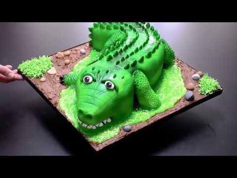 Alex's Bakery - Bespoke Cakes - Alligator - HD