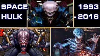 Space Hulk 1993 - 2016 Comparison