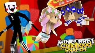 Minecraft Childhood FNAF - LITTLE KELLY ATTACKED AT THE CIRCUS! #4