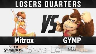 SL Ultimate #11 - Mitrox (Daisy) vs GYMP (Donkey Kong) - Losers Quarters