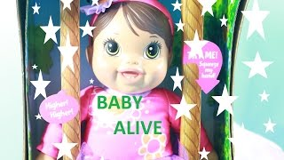 """Toby's Grandma Reviews BABY ALIVE talking """"Plays and Giggles Baby"""""""