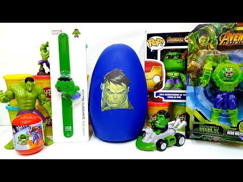 The Hulk Gigante Plastilina Avengers Superheroes Serie Giant Play Doh  Surprise Egg Brand New Toys